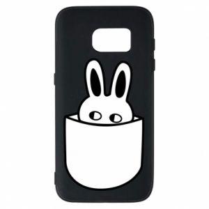 Samsung S7 Case Bunny in the pocket