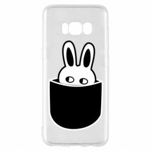 Etui na Samsung S8 Кróliczek w kieszeni