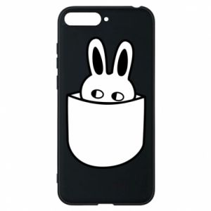 Huawei Y6 2018 Case Bunny in the pocket