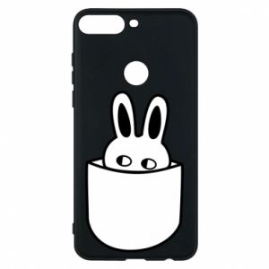 Huawei Y7 Prime 2018 Case Bunny in the pocket
