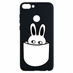 Phone case for Huawei P Smart Bunny in the pocket