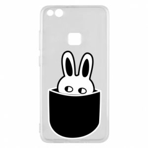 Huawei P10 Lite Case Bunny in the pocket