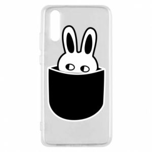 Huawei P20 Case Bunny in the pocket