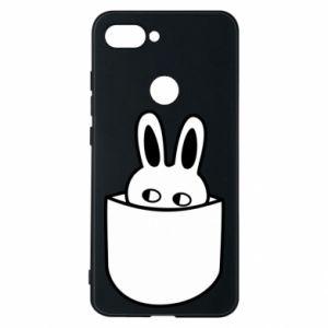 Xiaomi Mi8 Lite Case Bunny in the pocket
