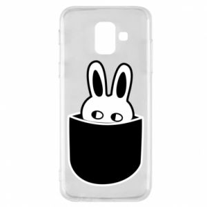 Samsung A6 2018 Case Bunny in the pocket