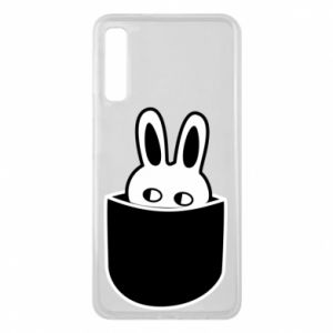 Samsung A7 2018 Case Bunny in the pocket