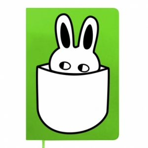 Notepad Bunny in the pocket