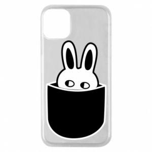Etui na iPhone 11 Pro Кróliczek w kieszeni
