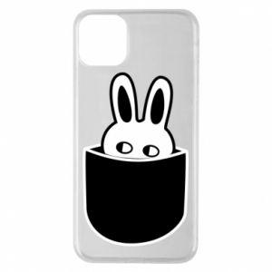 Etui na iPhone 11 Pro Max Кróliczek w kieszeni