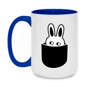 Two-toned mug 450ml Bunny in the pocket