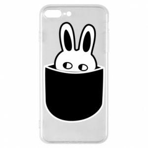 Etui na iPhone 7 Plus Кróliczek w kieszeni