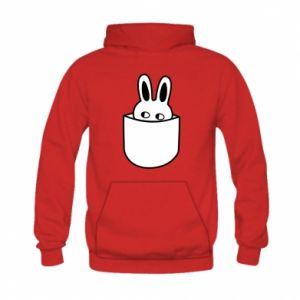 Kid's hoodie Bunny in the pocket