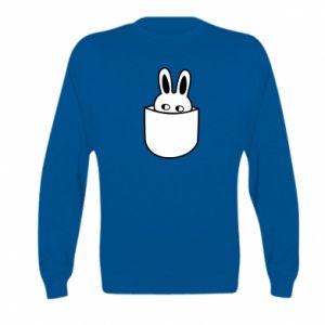 Kid's sweatshirt Bunny in the pocket