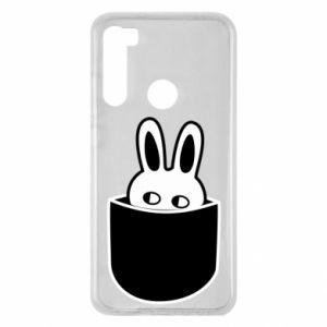 Xiaomi Redmi Note 8 Case Bunny in the pocket