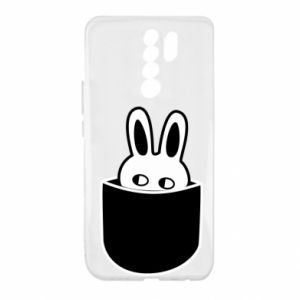 Xiaomi Redmi 9 Case Bunny in the pocket
