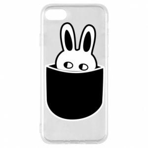 Etui na iPhone 8 Кróliczek w kieszeni
