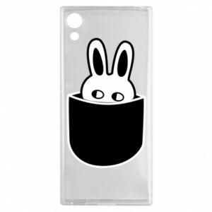Sony Xperia XA1 Case Bunny in the pocket