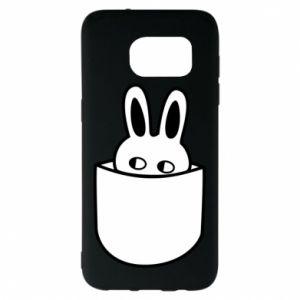 Samsung S7 EDGE Case Bunny in the pocket