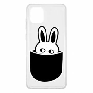 Samsung Note 10 Lite Case Bunny in the pocket