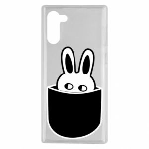 Samsung Note 10 Case Bunny in the pocket