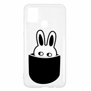 Samsung M31 Case Bunny in the pocket