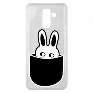 Samsung J8 2018 Case Bunny in the pocket