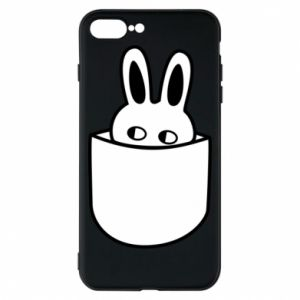 Etui na iPhone 8 Plus Кróliczek w kieszeni