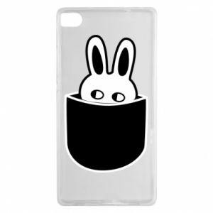 Huawei P8 Case Bunny in the pocket