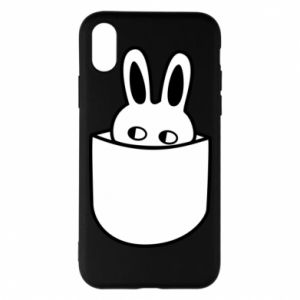 iPhone X/Xs Case Bunny in the pocket
