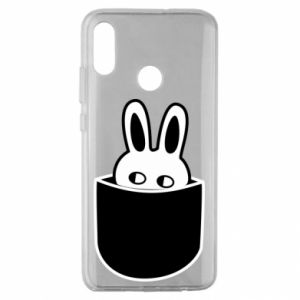 Huawei Honor 10 Lite Case Bunny in the pocket