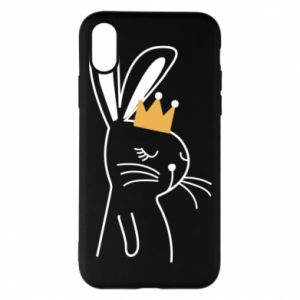 iPhone X/Xs Case Bunny in the crown