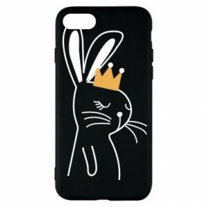 iPhone SE 2020 Case Bunny in the crown