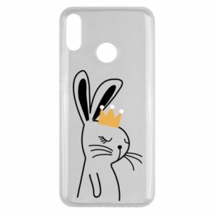 Huawei Y9 2019 Case Bunny in the crown