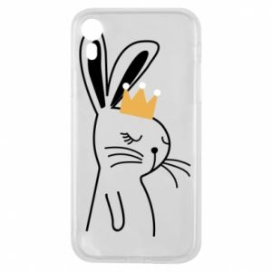 iPhone XR Case Bunny in the crown