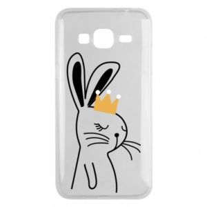 Samsung J3 2016 Case Bunny in the crown