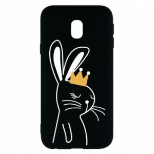 Samsung J3 2017 Case Bunny in the crown