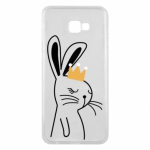 Samsung J4 Plus 2018 Case Bunny in the crown