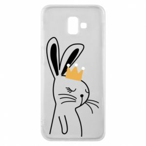 Samsung J6 Plus 2018 Case Bunny in the crown