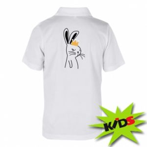 Children's Polo shirts Bunny in the crown