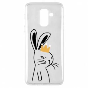 Samsung A6+ 2018 Case Bunny in the crown