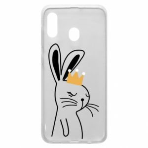 Samsung A30 Case Bunny in the crown