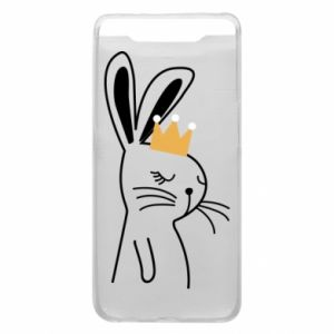 Samsung A80 Case Bunny in the crown