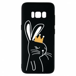 Samsung S8 Case Bunny in the crown