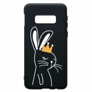 Samsung S10e Case Bunny in the crown