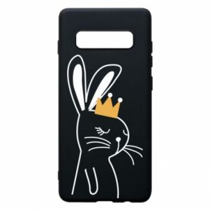 Samsung S10+ Case Bunny in the crown