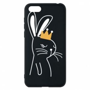Huawei Y5 2018 Case Bunny in the crown