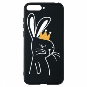 Huawei Y6 2018 Case Bunny in the crown