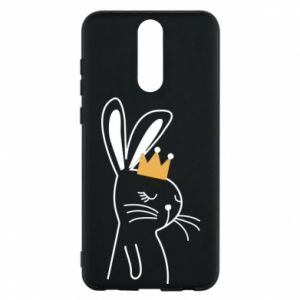 Huawei Mate 10 Lite Case Bunny in the crown