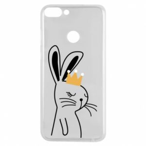 Huawei P Smart Case Bunny in the crown
