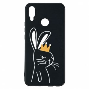 Huawei P Smart Plus Case Bunny in the crown